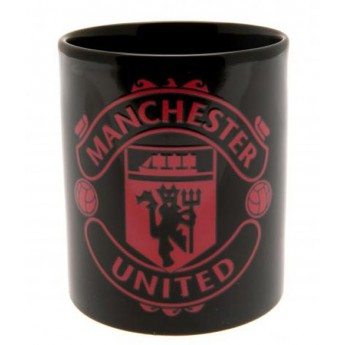 Manchester United kerámia bögre black