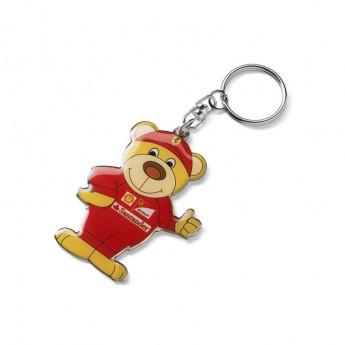 Ferrari kulcstartó medve F1 Team