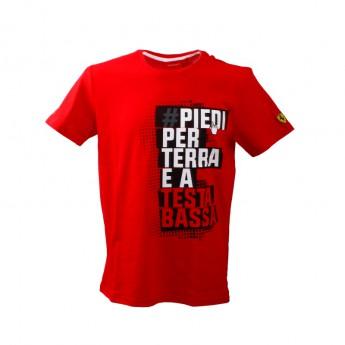 Ferrari férfi póló Winner red F1 Team