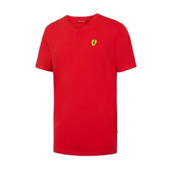 Ferrari férfi póló V-neck red F1 Team 2016