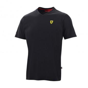 Ferrari férfi póló V-neck black F1 Team 2016