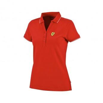 Ferrari női galléros póló Classic red F1 Team 2016