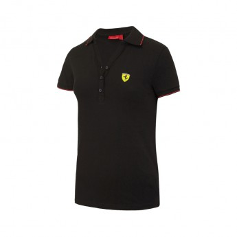 Ferrari F1 női galléros póló Classic black Team 2016