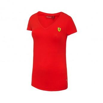 T-shirt damski V-neck red Ferrari F1 Team 2016