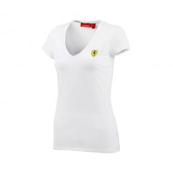 Ferrari női póló V-neck white F1 Team 2016