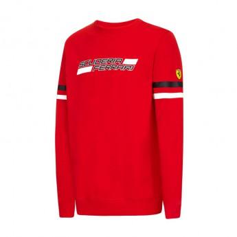 Ferrari férfi pulóver Crew red F1 Team 2016