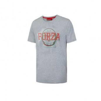 Ferrari férfi póló Forza Helmet grey F1 Team 2016