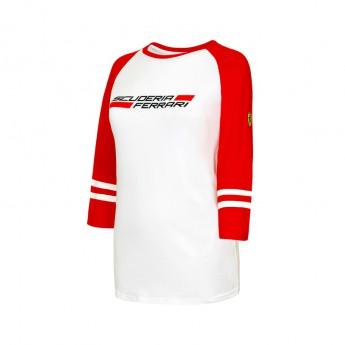 Ferrari női póló 3/4 longlseeve white F1 Team 2016