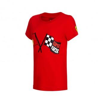 Ferrari F1 gyerek póló Super Racer red Team 2016