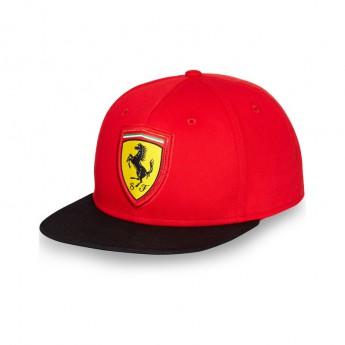 Ferrari siltes sapka Flat Brim Scudetto red F1 Team 2016