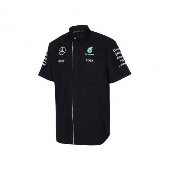 Mercedes AMG Petronas férfi ing black Team F1 2016