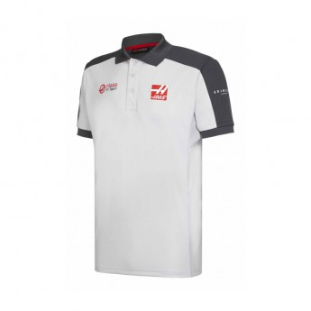 Haas F1 Team pólóing grey 2016