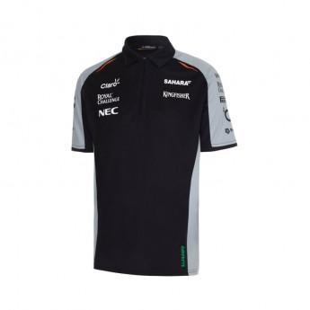 Force India férfi galléros póló Sahara 2016