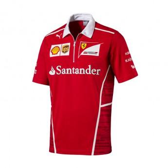 Puma Ferrari férfi galléros póló F1 Team 2017