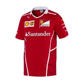Puma Ferrari férfi póló Sebastian Vettel F1 Team 2017