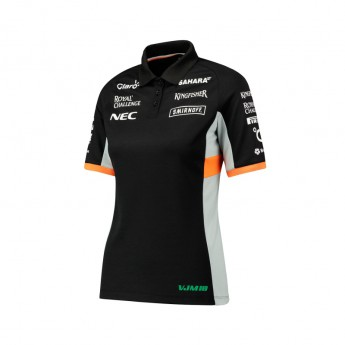 Force India női galléros póló Sahara F1 Team 2017