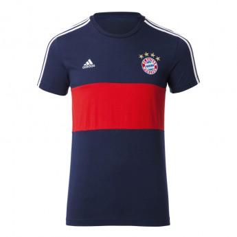 Bayern München férfi póló 3S blue-red 17