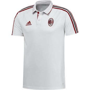 AC Milan férfi galléros póló 17 white