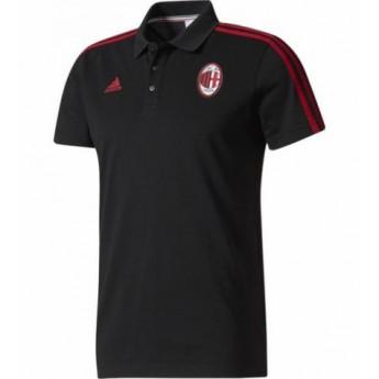 AC Milan férfi galléros póló 3S black 17