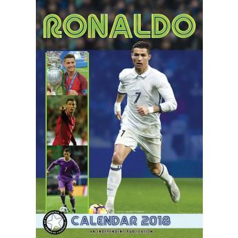 Cristiano Ronaldo naptár 2018 (29,7 x 42 cm) A3