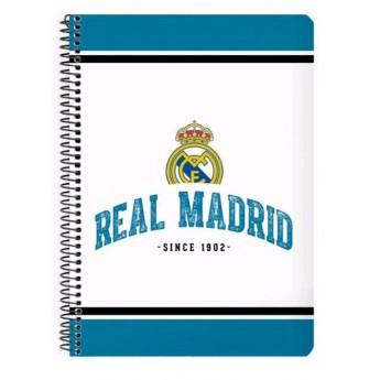 Real Madrid jegyzetfüzet A5 whiteblue 1902