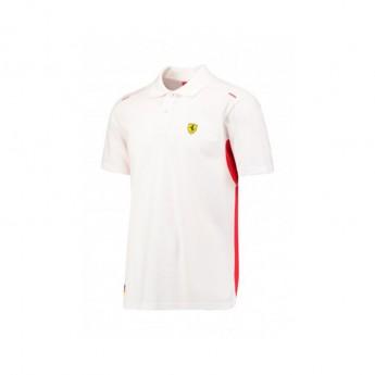 Scuderia Ferrari férfi galléros póló Kimi due white F1 Team 2017