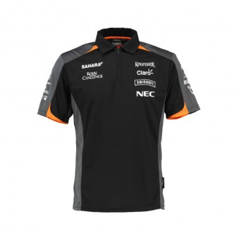 Force India férfi galléros póló Sahara F1 Team