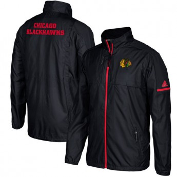Chicago Blackhawks férfi kabát black Authentic Rink Full-Zip Jacket