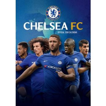 FC Chelsea naptár 2018 (29,7 x 42 cm) A3