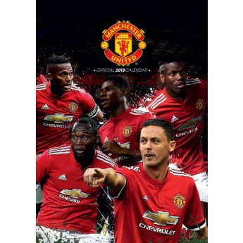 Manchester United naptár 2018 (29,7 x 42 cm) A3