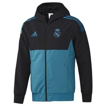 Real Madrid férfi kabát Presentation blackblue