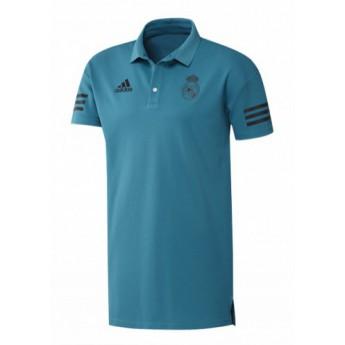 Real Madrid férfi galléros póló presentation blue