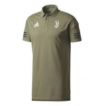 Juventus férfi galléros póló Presentation green
