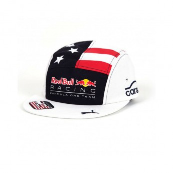 Red Bull Racing sitles sapka Flat Brim Daniel Riccardo US GP F1 Team 2017