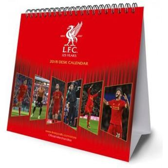 FC Liverpool naptár 2018 (16 x 17,5 cm)