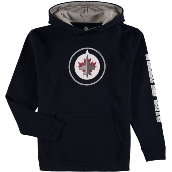 Winnipeg Jets gyerek pulóver black NHL Zone Fleece