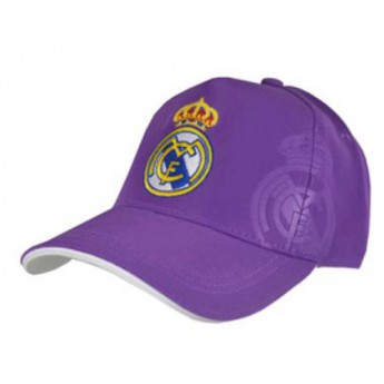 Real Madrid siltes sapka purple logo