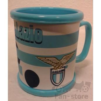 Lazio műanyag sávos bögre stripe