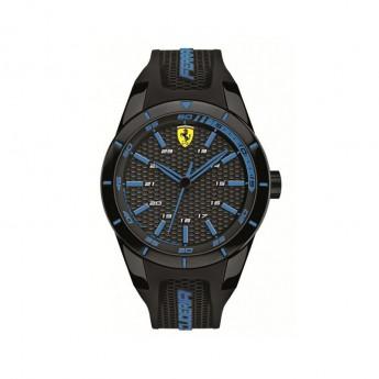 Scuderia Ferrari óra RED REV black/blue