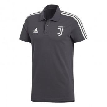 Juventus férfi galléros póló 3S carbon