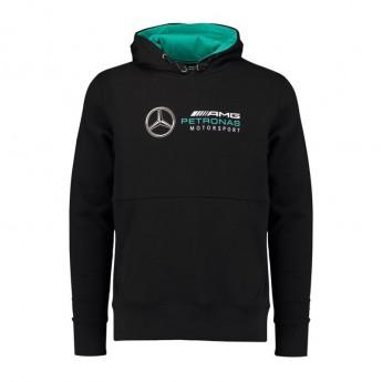 Mercedes AMG Petronas férfi kapucnis pulóver black F1 2018