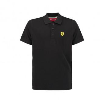 Ferrari gyerek galléros póló Classic black F1 Team 2018
