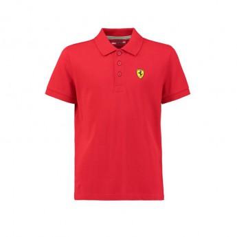 Ferrari gyerek galléros póló Classic red F1 Team 2018