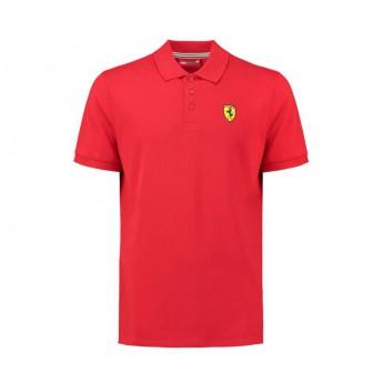 Ferrari férfi galléros póló Classic red F1 Team 2018
