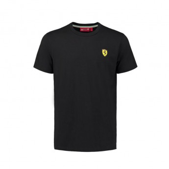 Scuderia Ferrari férfi póló black Crew Neck F1 Team 2018