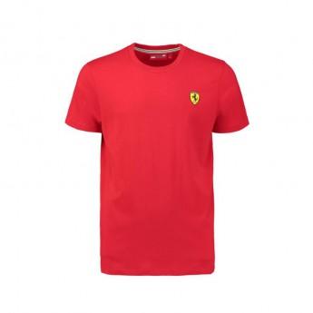 Scuderia Ferrari férfi póló Crew Neck red F1 Team 2018