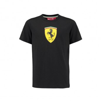 Scuderia Ferrari gyerek póló Classic black F1 2018