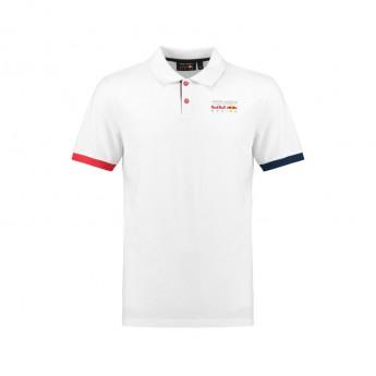 Red Bull Racing férfi galléros póló Classic white 2018