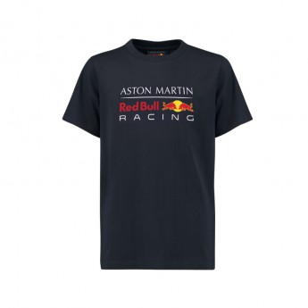 Red Bull Racing gyerek póló blue Large Logo 2018