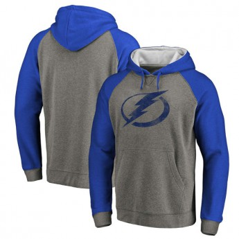 Tampa Bay Lightning Férfi pulóver Distressed Primary Logo Raglan